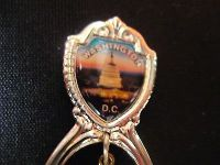 Washington dc capital charm vacation usa state collector souvenir spoon travel