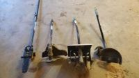 Craftsman Sears line trimmer attachments, edger, cultivator, chainsaw