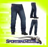Sell Icon Strongarm 2 Riding Pant Blue Denim Jeans Size 28 motorcycle in Elkhart, Indiana, US, for US $105.00