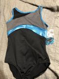 NWT-Size 10 Gym Leotard from Jusice with hair band