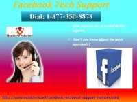 Enjoy earnest services of Facebook Tech Support 1-877-350-8878 at curtailed pricesEnjoy earnest serv