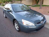 2004 Honda Accord Sdn EX Auto w/Leather/XM