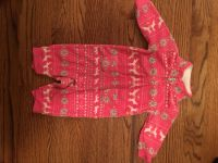 0-3 month fleece outfit