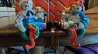 Vintage Flambro Raggedy Ann and Andy Stocking holders