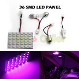 Find 2X PURPLE LED DOME MAP INTERIOR LIGHT BULB SMD 36-LED PANEL XENON HID LAMP motorcycle in Cupertino, CA, US, for US $8.66