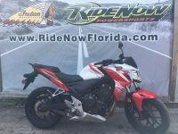 $3,899, 2015 Honda CB500F