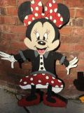 Minnie Mouse wooden sign