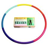 Weight Loss Sports Hoop Series: Trim Hoop 3B - 3.1lb (41 inches wide) Large, Weighted Fitness Exercise Hula Hoop