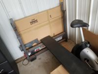 Olympic Weight Bench and Olympic Bar