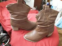 Brown Slouch Cowgirl Boots