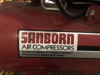 Sanborn Air Compressor