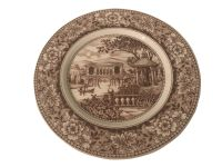 Collectible French Country Dinner Plate