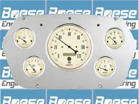 Find 59-60 Dodge Truck Auto Meter Antique Beige Gauges 1959-1960 motorcycle in Tempe, Arizona, United States, for US $599.95