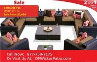 CLOSE OUT HIGH END Wicker Patio Furniture Close Out Sale