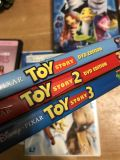 Toy Story DVDs $5 for all 3