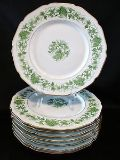 8pc Royal York China plates