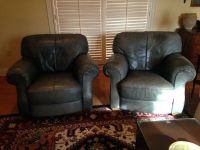 For Sale.......2 All Leather Chairs