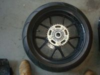Purchase 2005 05 Ducati 999 Rear Rim Rotor Sprocket Tire motorcycle in Henrico, Virginia, US, for US $350.00