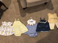 Mixed lot of girls summer clothes