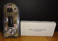 Chicago Bulls Watch 1998 NBA Officially Licensed Analog Watch with Leather Band