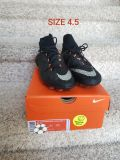 Boys size 4.5 soccer cleats. Used