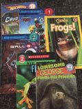 Lot of 6 Level 1-3 Books