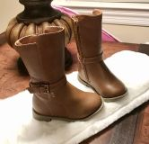 18-24 Month Toddler Girl Brown Boots