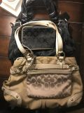 2 coach purses and two clutch/wallets