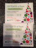 Festival of the Trees ~ 2 tickets