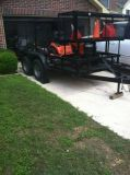 Landscaping Trailer, Ride On lawn mower, Edgers, blower