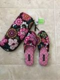Vera Bradley Slippers w/ case. tags attached Size 7/8