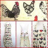 Country Apron Chicken Rooster Cooking Baking