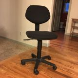Small Office Chair with Wheels