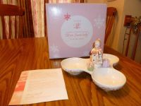 2003 President's Club Holiday Gift Collection Avon Snowlady dish.