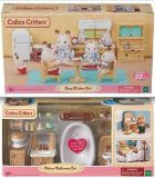 New! Calico Critters Kozy Kitchen --OR-- Deluxe Bathroom Set