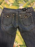 Miss Me Jeans. EUC, came with some destruction. See additional pics and Description. Smoke free. Meet in Hendersonville.