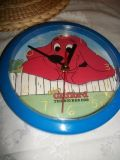 #3003 CLIFFORD THE RED DOG WALL CLOCK
