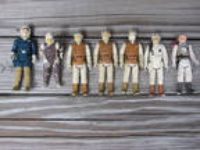 1980 Vintage Star Wars ESB Action Figures Hoth Lot Luke Han