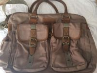 Field and Stream canvas and leather fishing bag