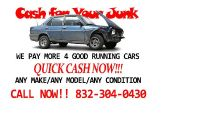 $1,500, Sell Your Cars, Trucks and Junk to Car Buyers