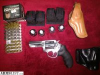 For Sale/Trade: Ruger SP101 .357 Magnum with 3 inch barrel and Extras!