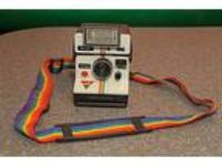 Custom Gay Pride Polaroid One Step Camera