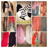 Scarves $4 each or save more 2/$7 3/$10 4/$12 12 left all for $25