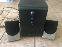 Alter Lansing Computer/Aux with subwoofer