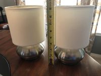 Set of 2 touch lamps