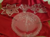 Mikasa Holiday Platters and Candy Dish all for $15.00