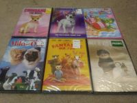 6 Little Kids Movies (Sealed DVDs)