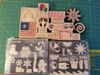 Stamps for scrapbooking or card making