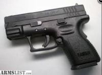 For Sale: SPRINGFIELD ARMORY PISTOL XD-9MM