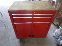 For Sale: International 3 Drawer with bottom Storage space with wheels